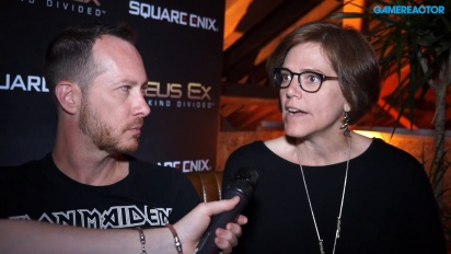 Deus Ex: Mankind Divided - Franchise and Narrative Directors Interview