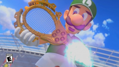 Mario Tennis Aces - Adventure Mode Trailer