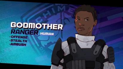 XCOM: Chimera Squad - Perfil de Agente: Godmother
