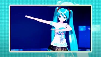 Hatsune Miku: Project Diva Mega Mix - Trailer de Gameplay