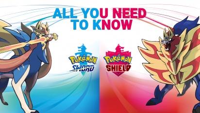 Pokémon Sword & Pokémon Shield - Tudo o que precisa de saber (Patrocinado)