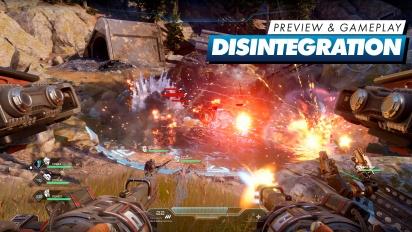 Disintegration - Antevisão [inglês]