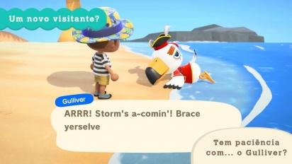 Animal Crossing: New Horizons! - Atualização de verão