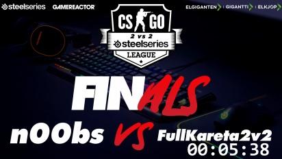Steelseries League 2v2 - n00bs vs. FullKareta2v2 Finals Livestream
