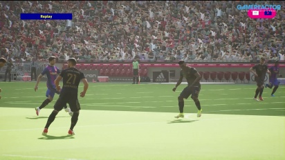 eFootball 2022 - First match PS5 gameplay - Bayern vs Barça