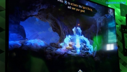 E3 2014: Ori and the Blind Forest  - Gameplay