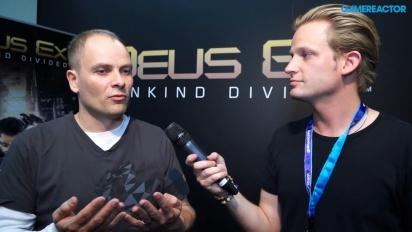 Deus Ex: Mankind Divided - Entrevista com o Diretor