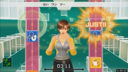 Fitness Boxing - Lin instructor gameplay trailer