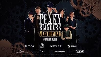 Peaky Blinders: Mastermind Trailer Inicial