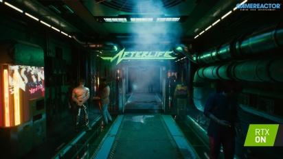 Cyberpunk 2077 - Scenes of Cyberpunk RTX Trailer