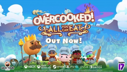 Overcooked: All You Can Eat - Launch Trailer