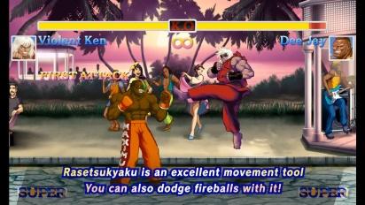 Ultra Street Fighter II: The Final Challengers - Battle Tactics Video