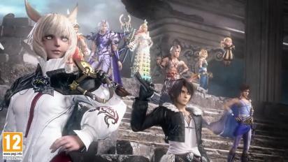 Dissidia Final Fantasy NT TGS 2017 Trailer