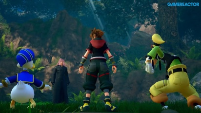 Kingdom Hearts III - Antevisão em vídeo