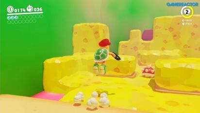 Super Mario Odyssey - Jogabilidade em Luncheon Kingdom Parte 2