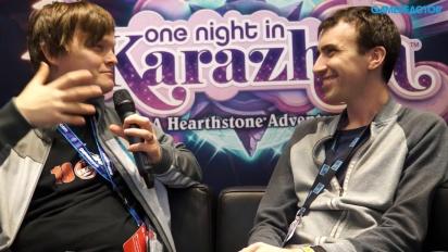 Hearthstone: One Night in Karazhan - Entrevista Peter Whalen