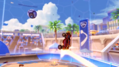 Rocket League - Salty Shores Update