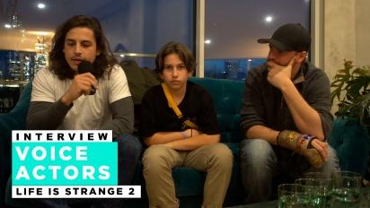 Life is Strange 2 - Entrevista com os atores de Life is Strange 2