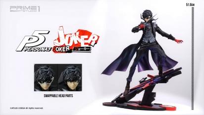 Joker (Persona 5) Prime1Studio Figurine - 360° View
