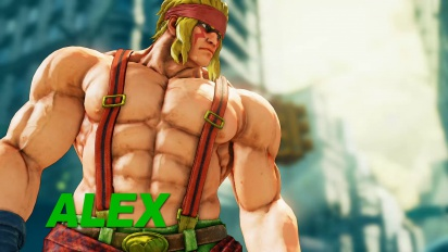 Street Fighter V - Alex DLC Trailer