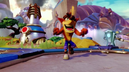 Skylanders Imaginators - Crash Bandicoot E3 2016 Reveal Trailer