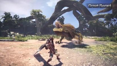 Monster Hunter: World - Heavy Weapons