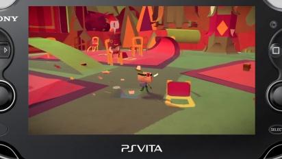 Tearaway - Gamescom 2013 Trailer