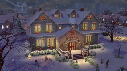 The Sims 4: 4 Seasons Reveal Trailer