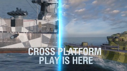 World of Warships: Legends - Cross Play Trailer