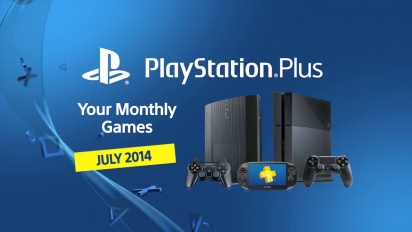 Playstation Plus - July 2014