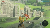 The Legend of Zelda: Breath of the Wild - Jogabilidade na Switch