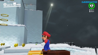 Super Mario Odyssey - Jogabilidade em Cap Kingdom