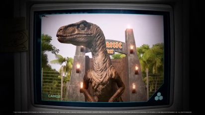 Jurassic World Evolution: Return to Jurassic Park Species Profiles