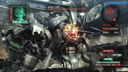 Vanquish - PS4 Boss Gameplay