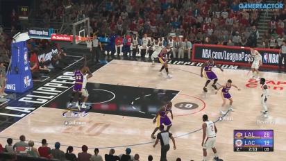 NBA 2K21 - Milwaukee Bucks, LA Clippers, and LA Lakers Gameplay