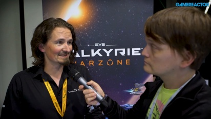 Eve: Valkyrie Warzone - Entrevista Andrew Willans