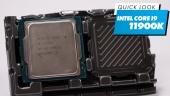 Intel Core i9-11900K - Quick Look