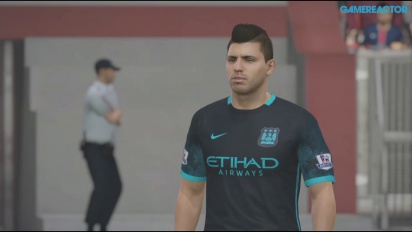 FIFA 16 - PSG vs Man City