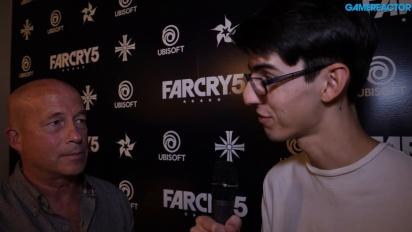Far Cry 5 - Entrevista Tony Gronick