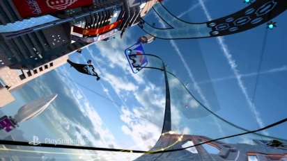 WipEout Omega Collection - VR Launch Trailer