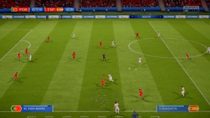 FIFA World Cup 2018 - Portugal vs Espanha