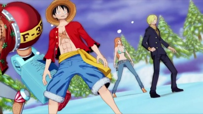 One Piece: Unlimited World Red - The Unlimeted Adventure Begins Trailer