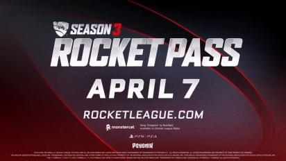 Rocket League - Season 3 Rocket Pass Trailer   PS5, PS4