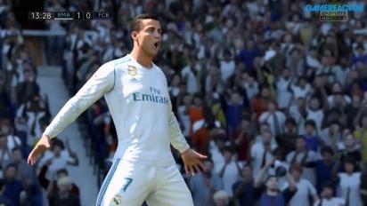FIFA 18 - Cristiano Ronaldo's 'Siu' Goal Celebration