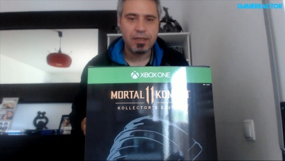 Unboxing Mortal Kombat 11 Kollector's Edition