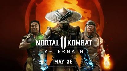 Mortal Kombat 11 - Aftermath Official Reveal Trailer
