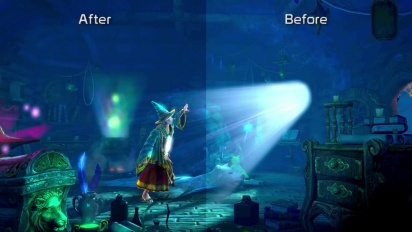 Trine 2: Director's Cut - January 2013 Update Graphic Comparison Trailer