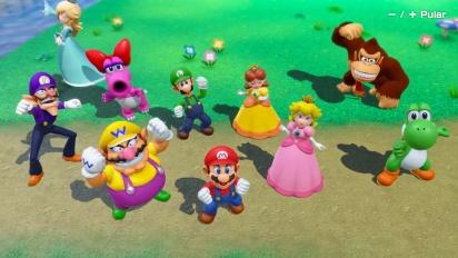 Mario Party Superstars - Trailer de apresentação de modos e jogos
