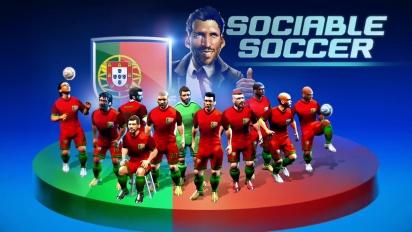 Sociable Soccer - Early Access Trailer