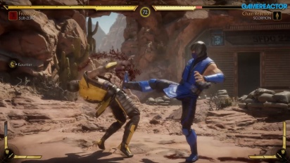 Mortal Kombat 11 - Sub-Zero, Scorpion, and Sonya Gameplay
